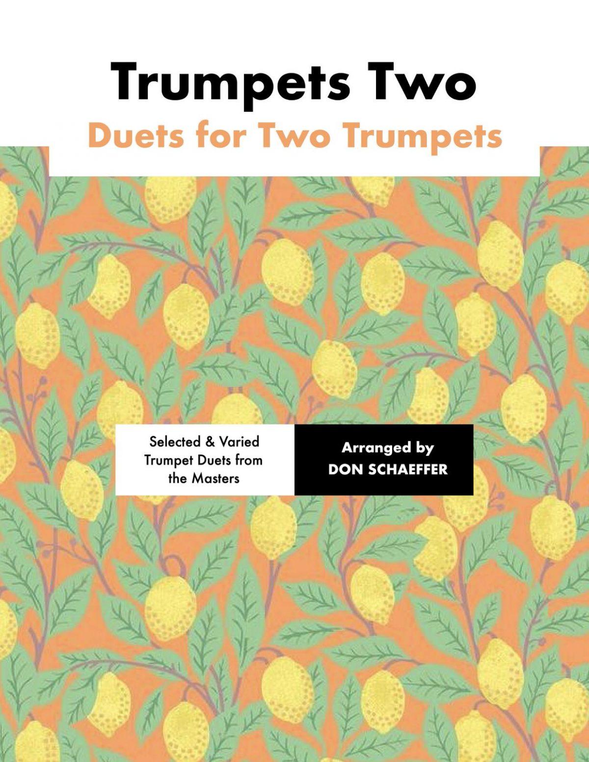 Schaeffer, Trumpets Two-p01