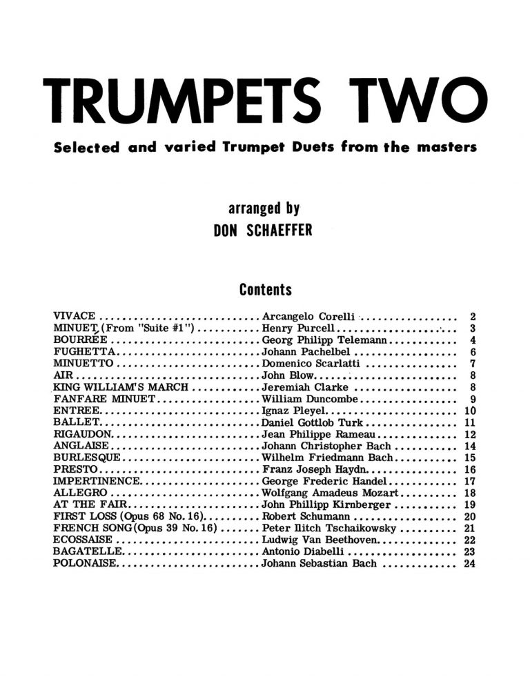 Trumpets Two