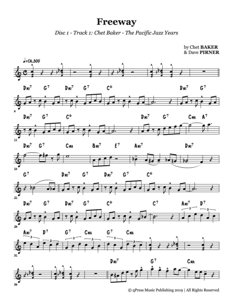 "Chet Baker's ""The Pacific Jazz Years"" Vols.1-4"