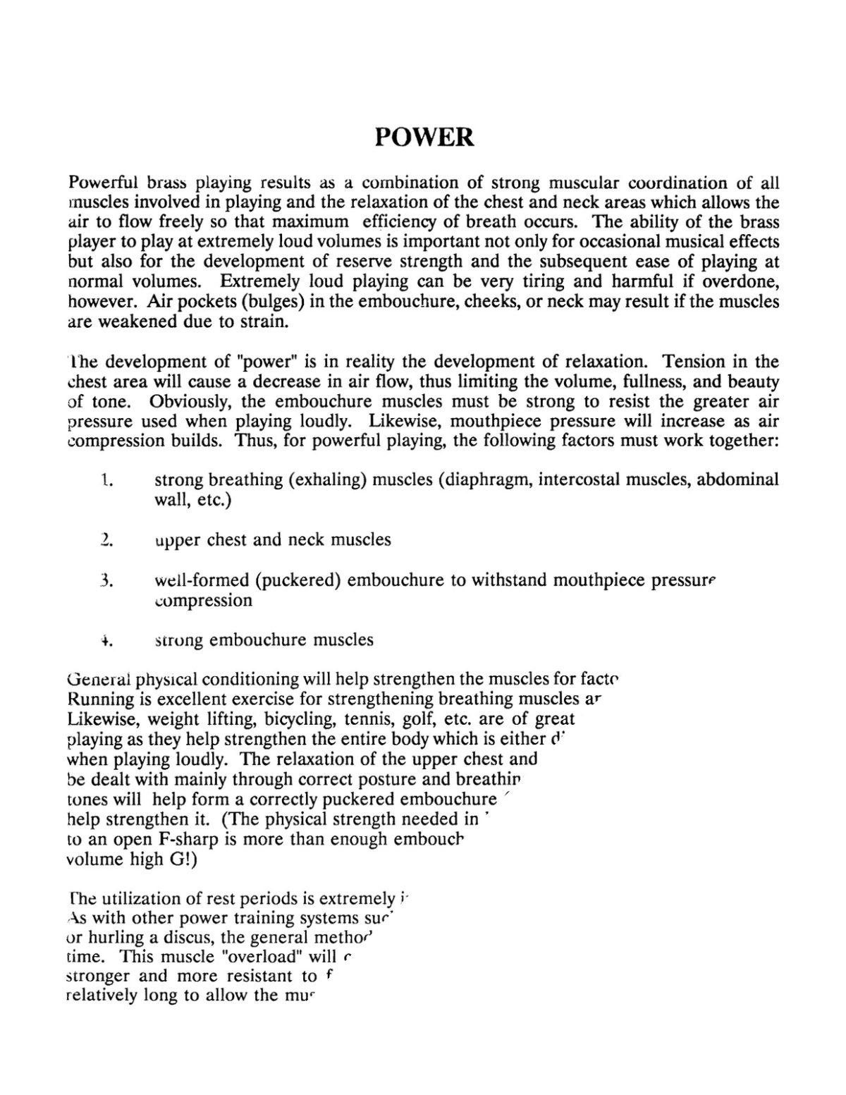 Hickman, Trumpet Lessons Volume 3, Embouchure Development, Power, Endurance, Upper Register-p04