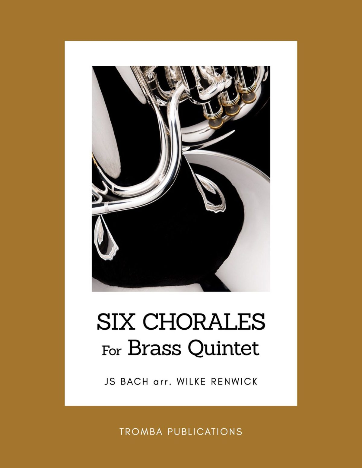 Renwick, Six Chorales J.S. Bach for Brass Quintet-p01