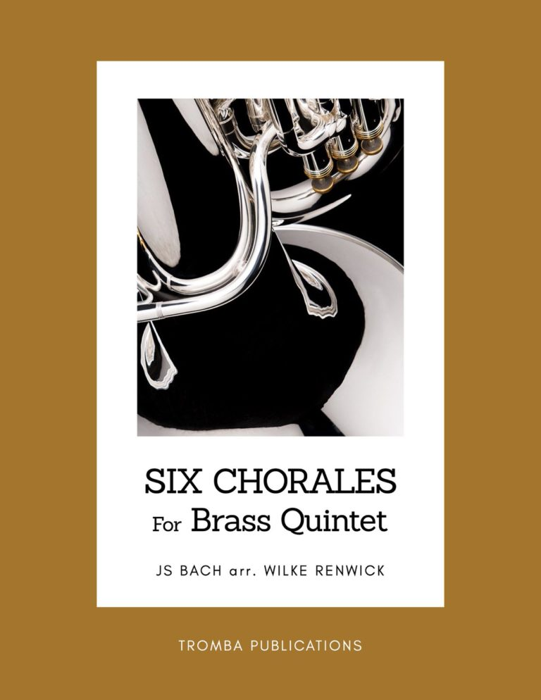 6 Bach Chorales for Brass Quintet
