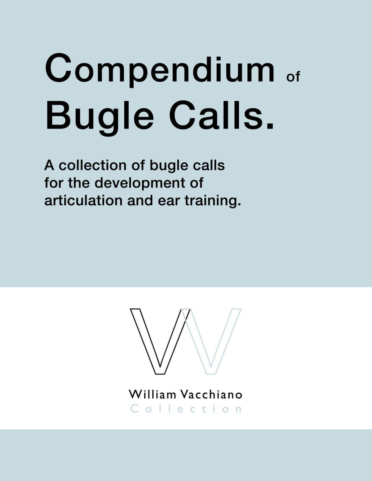 Vacchiano, Compendium of Bugle Calls-p01