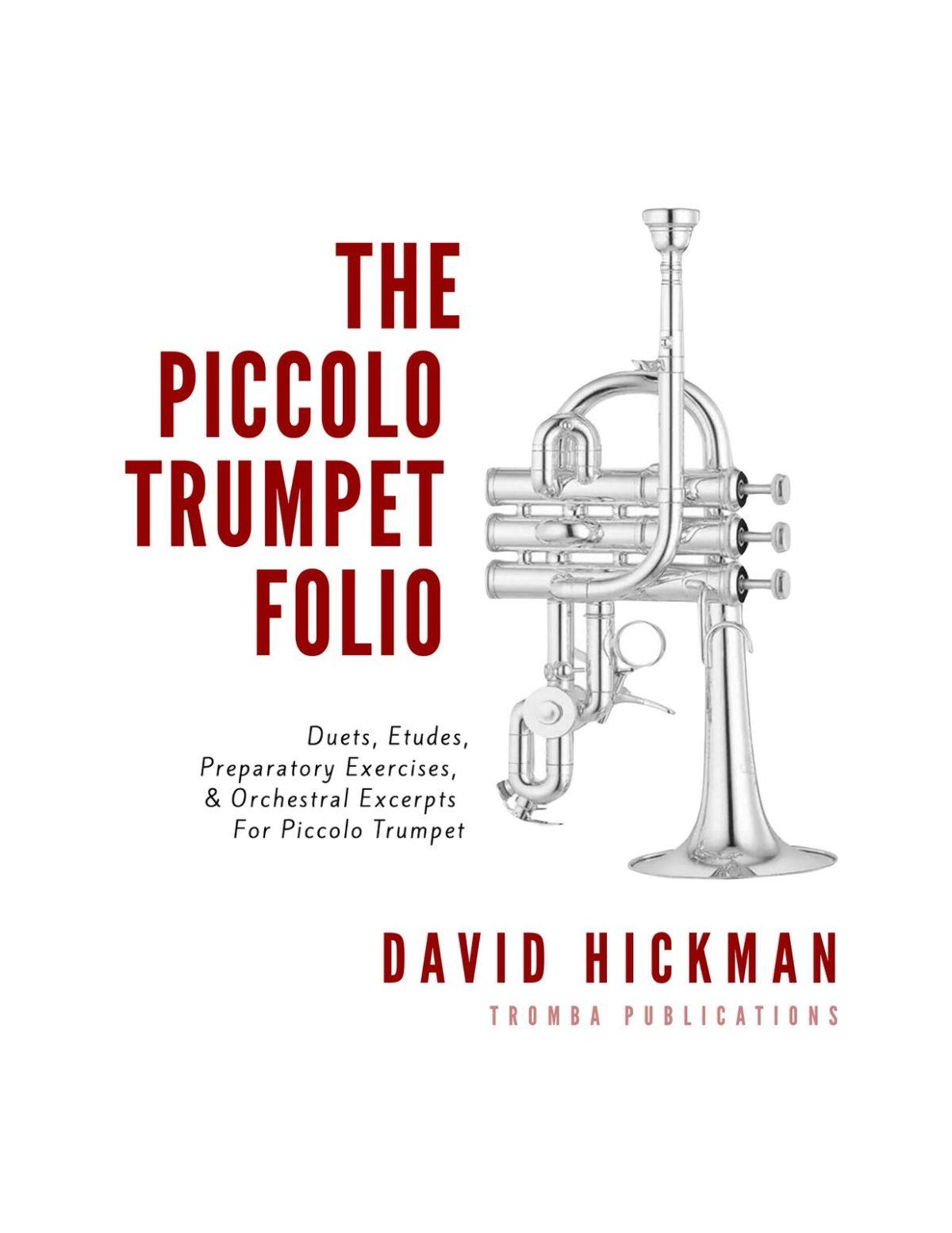 Piccolo Trumpet Duets, Etudes, Excerpts-p01