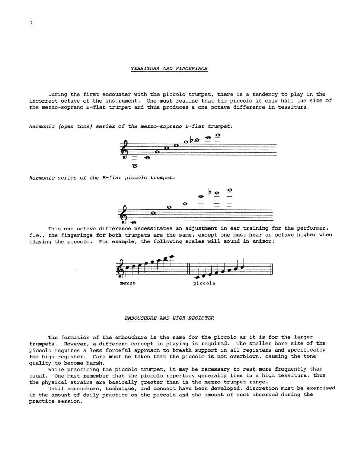 Piccolo Trumpet Duets, Etudes, Excerpts-p07