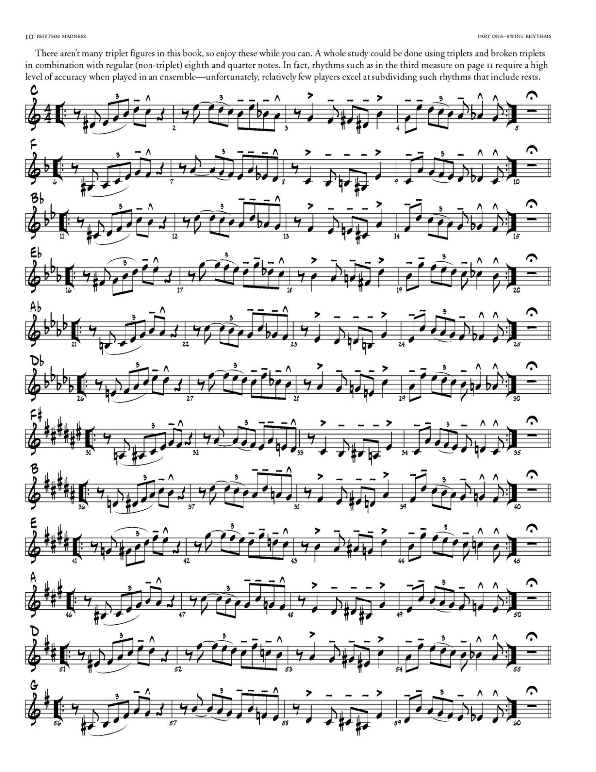 Willey, Rhythm Madness for Trumpet-p018