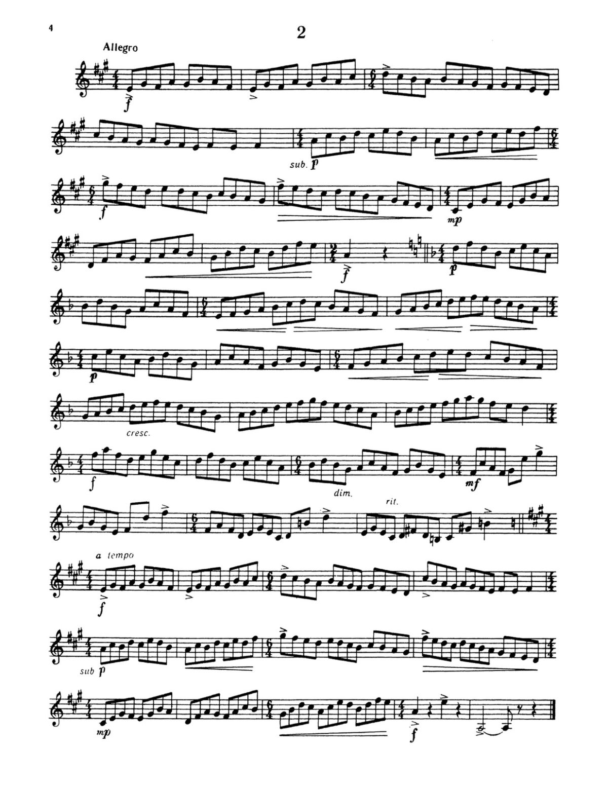 Berdiev, Easy Studies for Trumpet Vol.2-p04