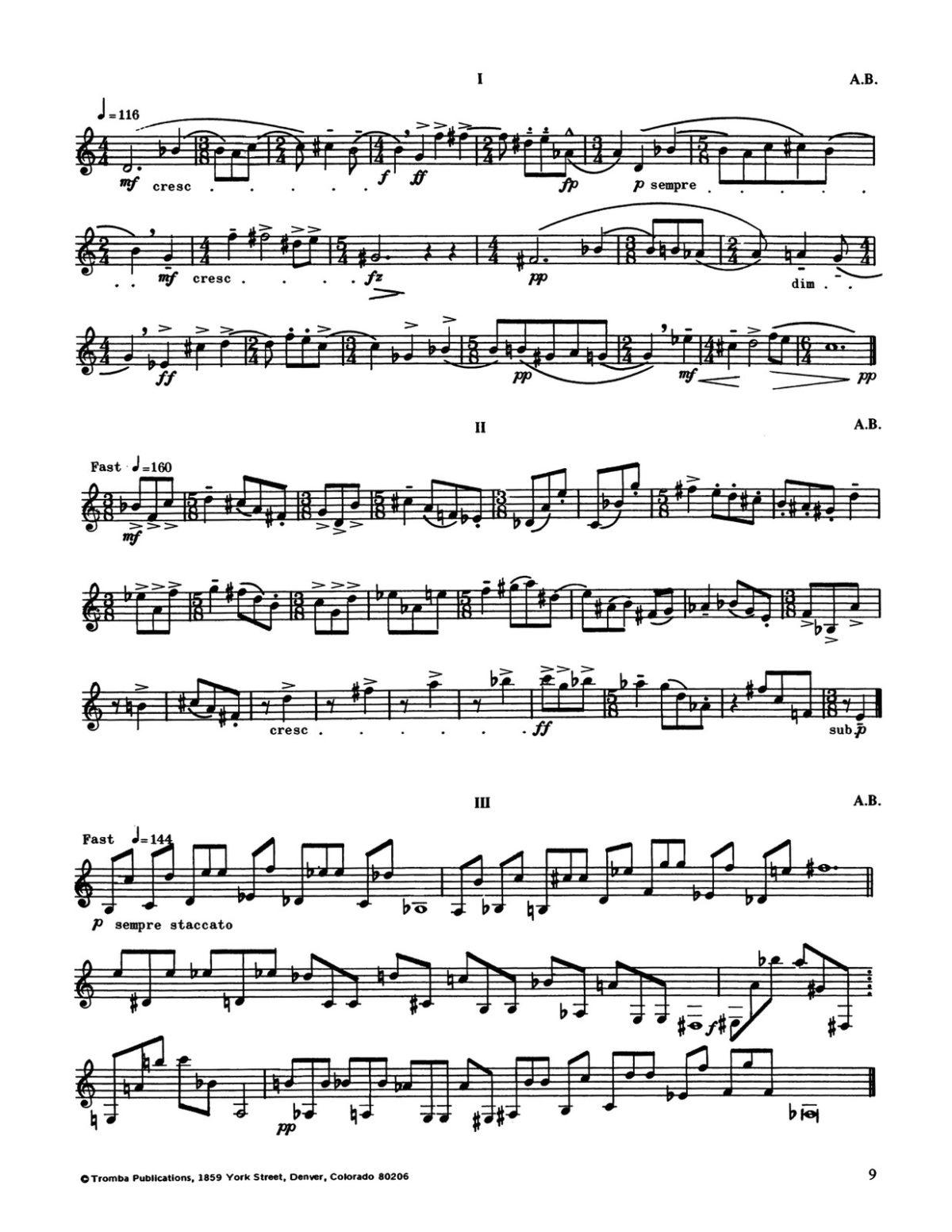 Blatter, Zonn, ann. Hickman Contemporary Trumpet Studies-p13
