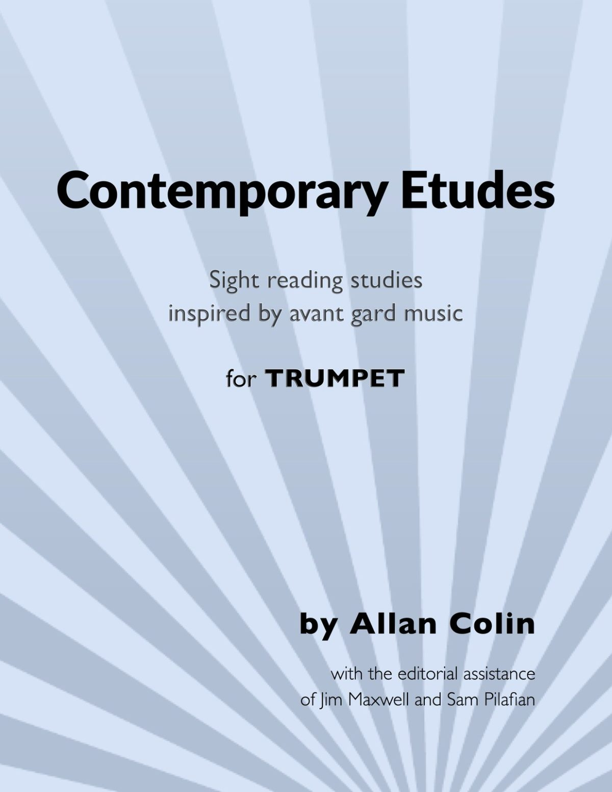 Colin, Allan, Contemporary Etudes for Trumpet-p01