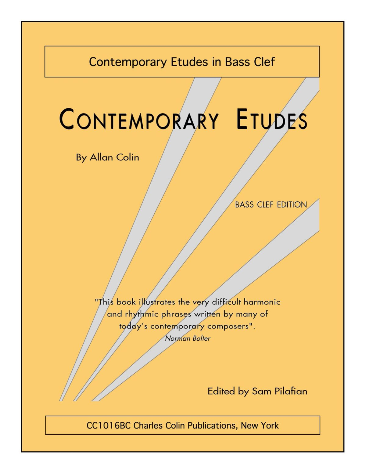 Colin, Contemporary Etudes in Bass Clef-p01