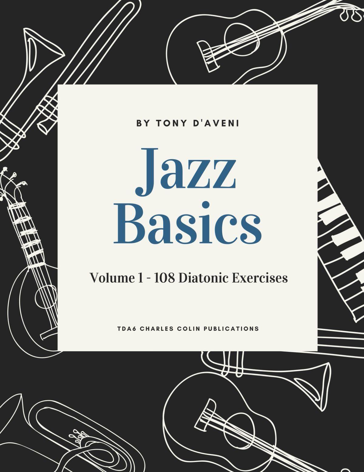 D'Veni, Jazz Basics Vol.1 Diatonic Exercises-p01