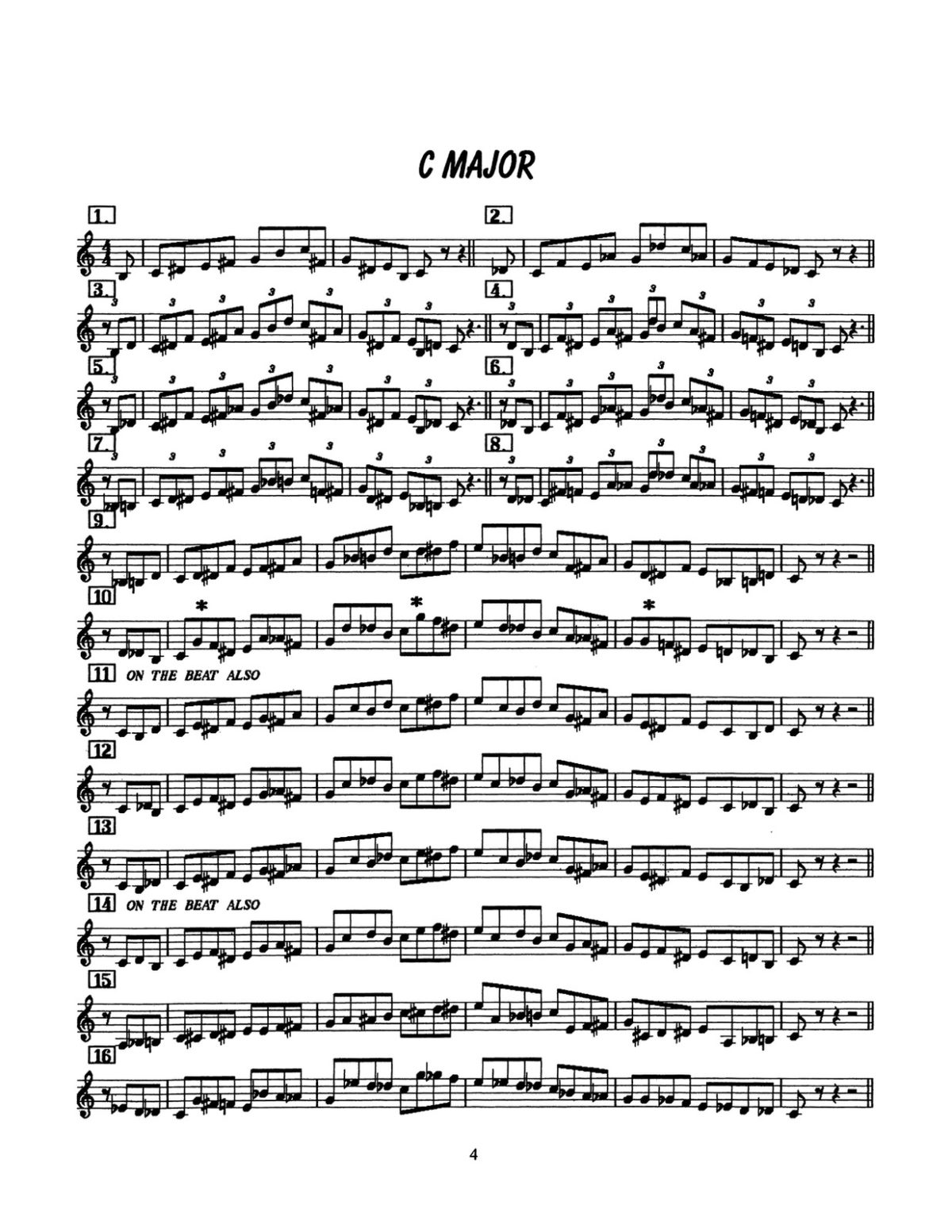 D'Veni, Jazz Basics Vol.2 Approach Notes-p06