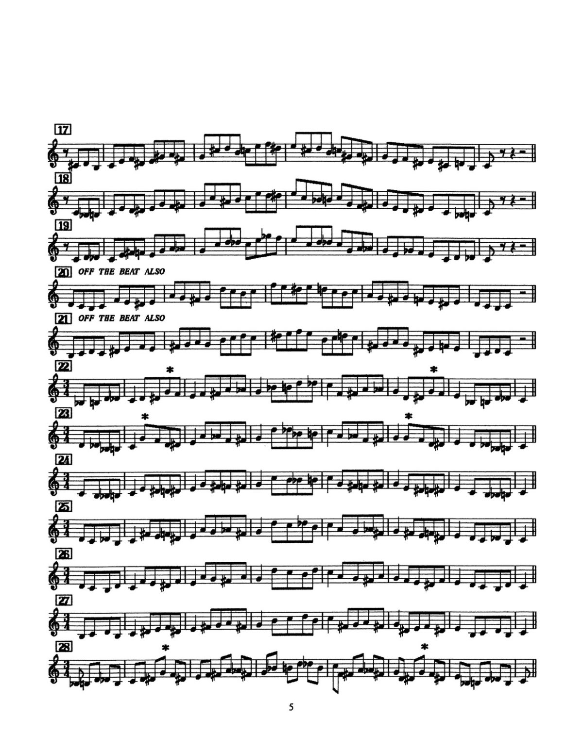D'Veni, Jazz Basics Vol.2 Approach Notes-p07