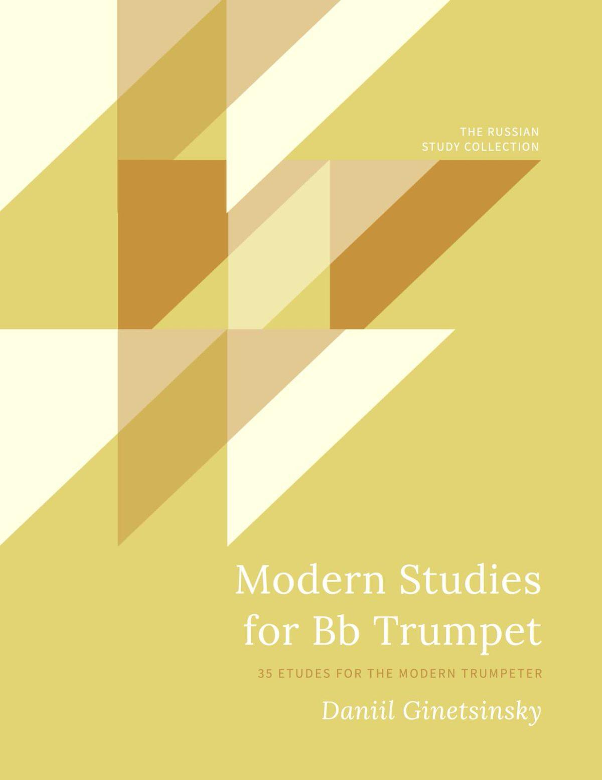 Ginetsinsky, Etudes for Trumpet-p01