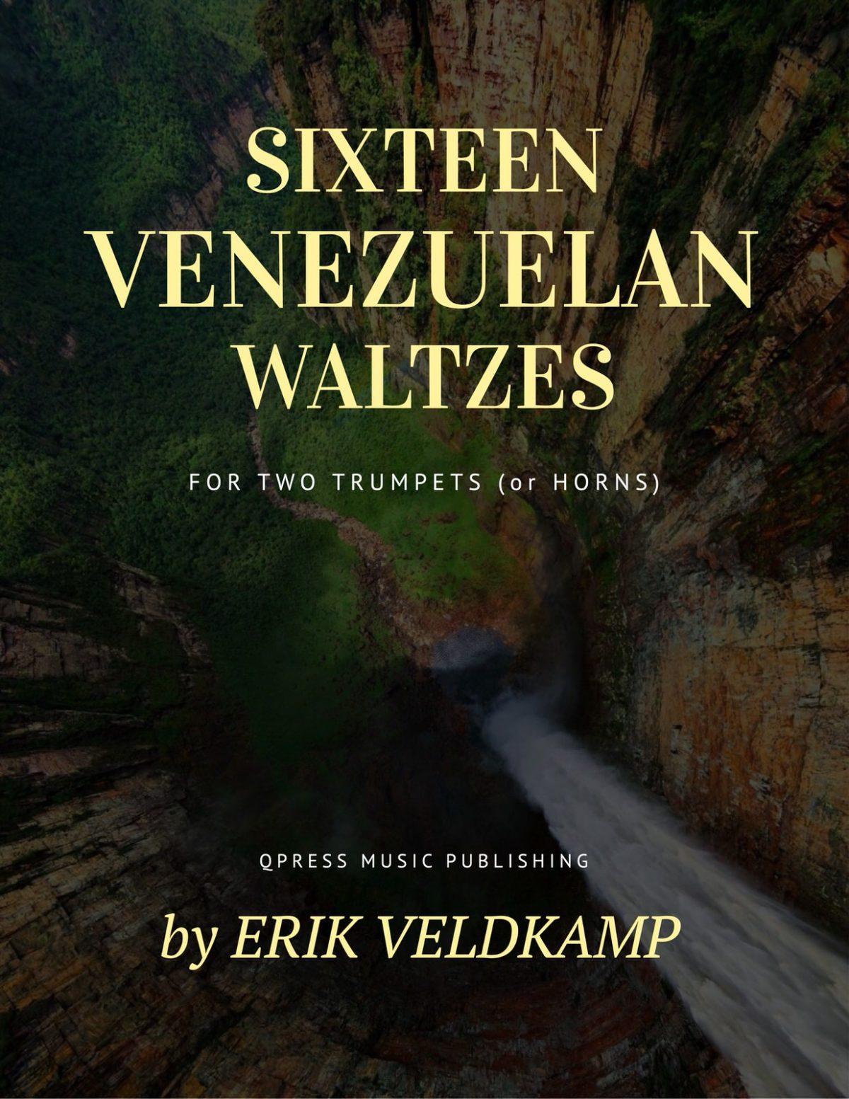 Lauro, 16 Venezuelan Waltzes for Two Trumpets-p01