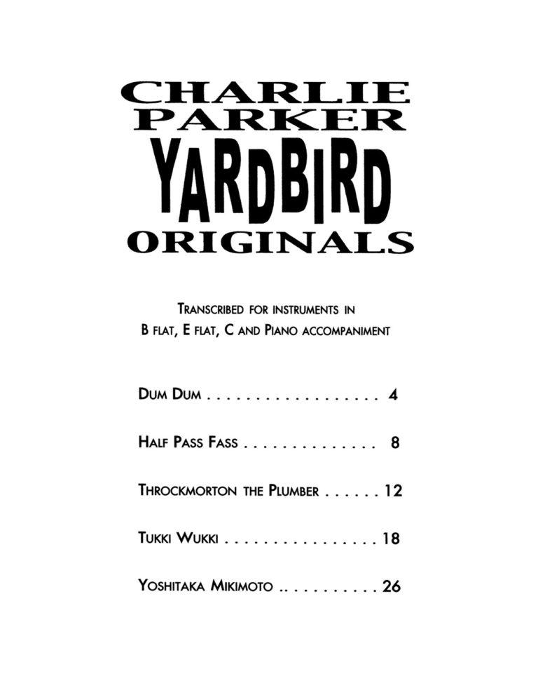 Yardbird Originals