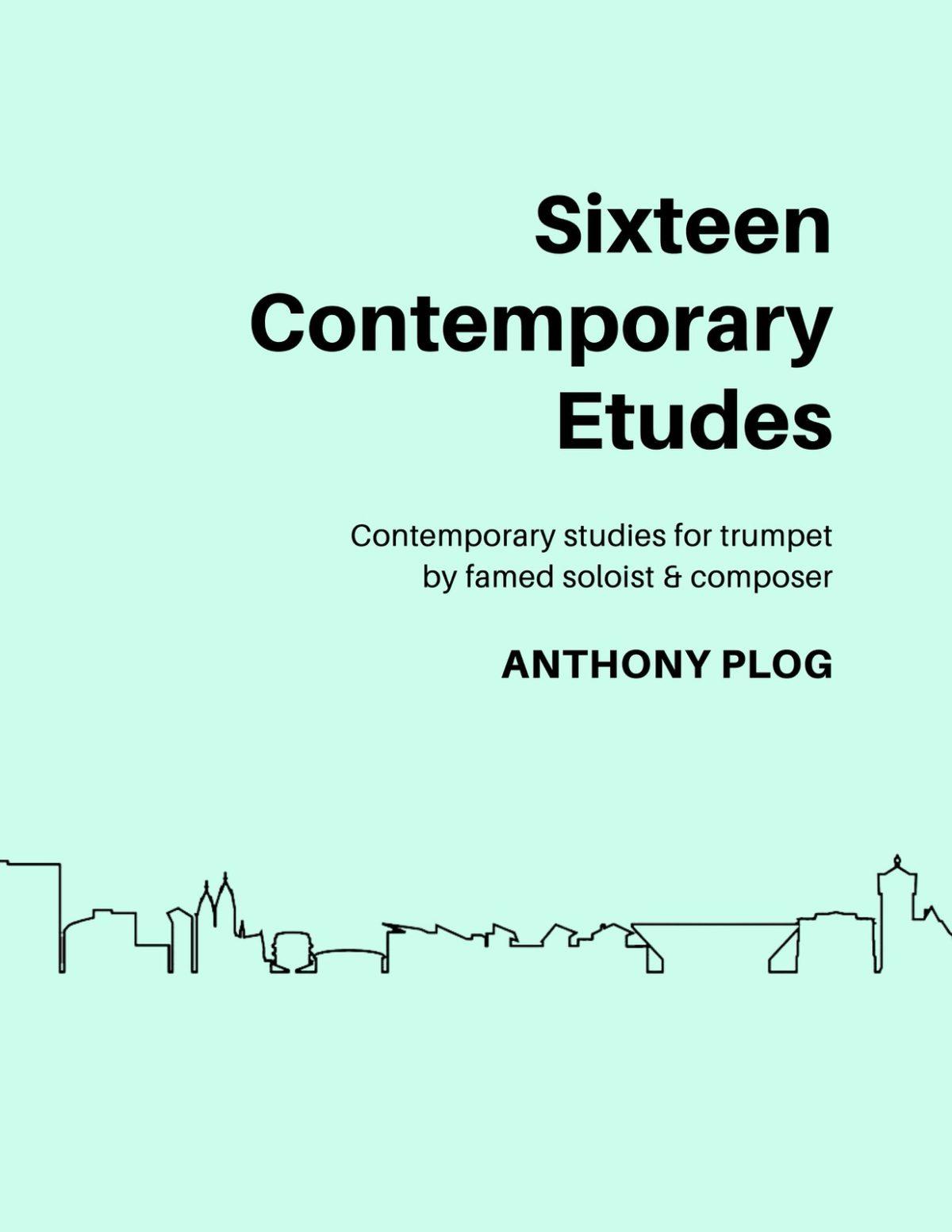 Plog, 16 Contemporary Etudes for Trumpet-p01