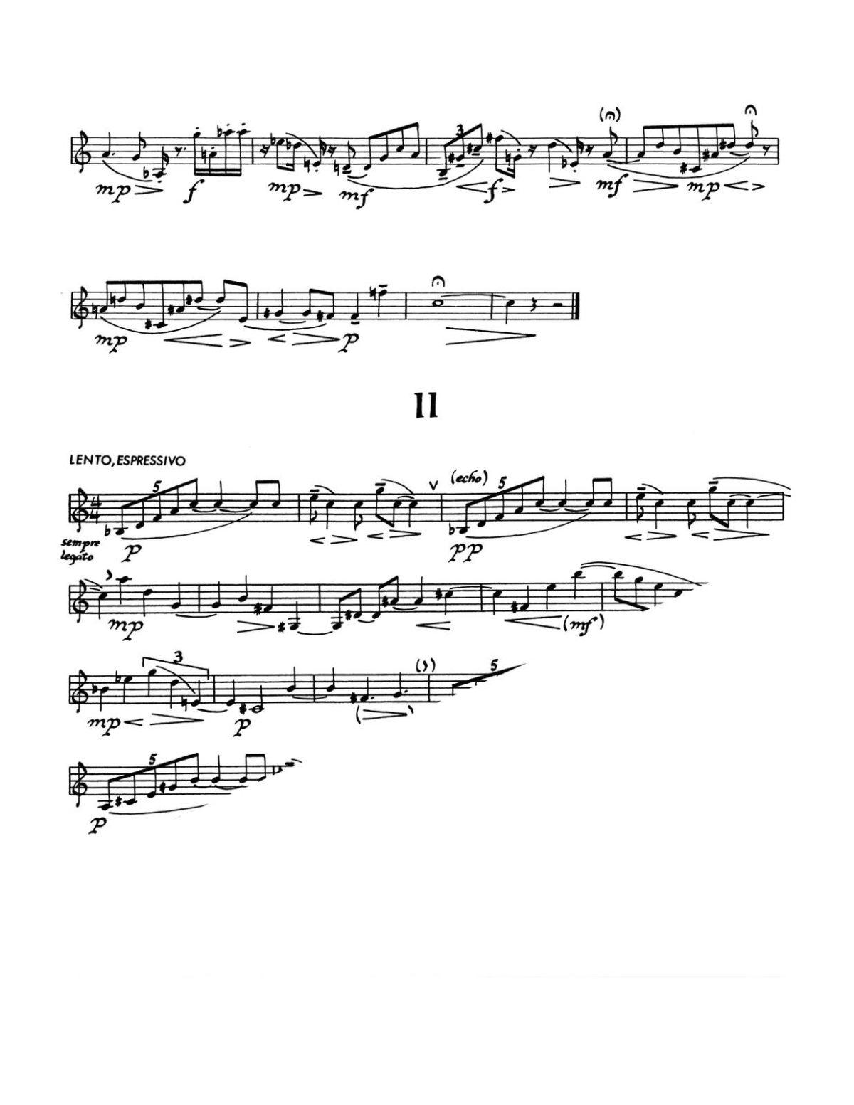 Darter, Sonatina (3 Aphorisms) for Unaccompanied Trumpet-p3