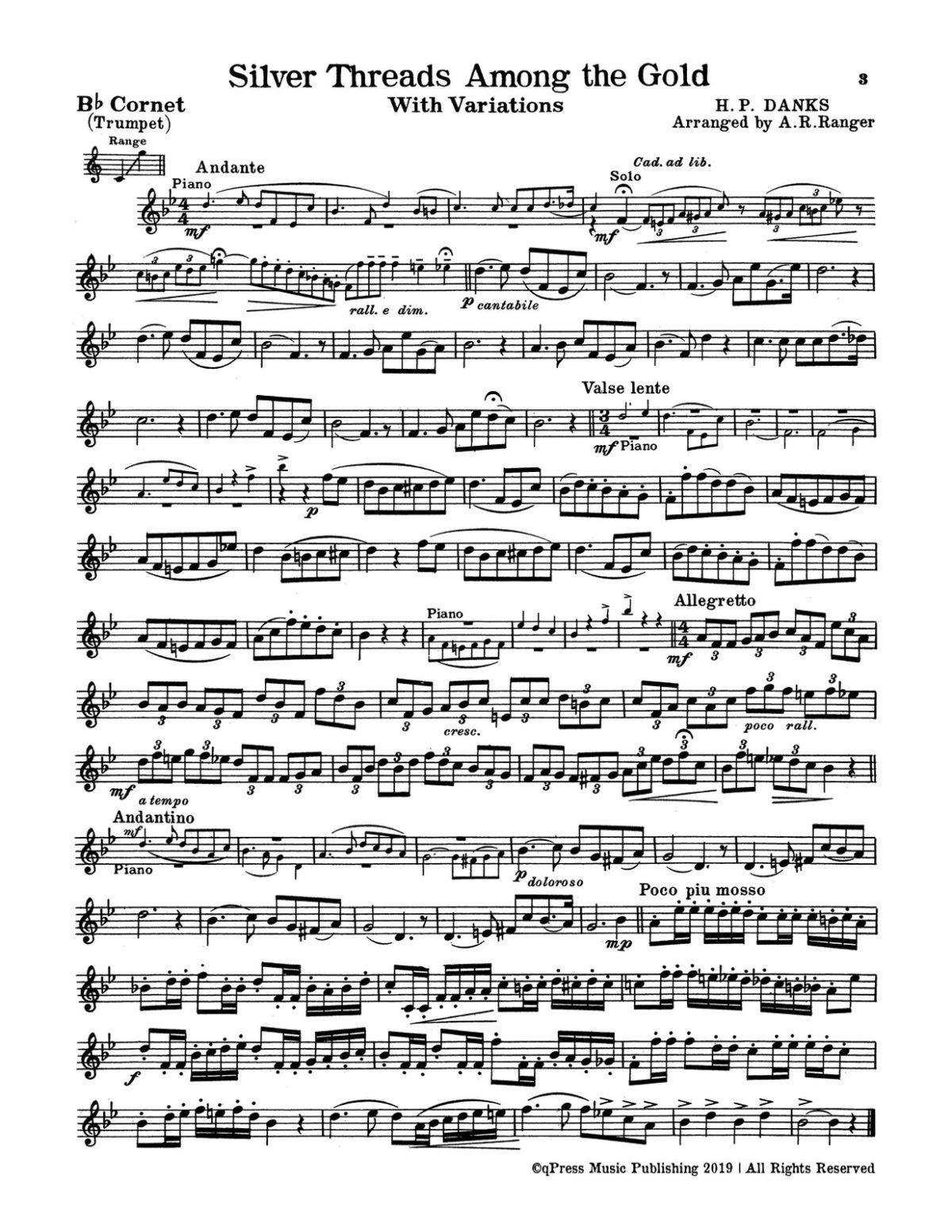 Various, The Cornetist's Joy (Part & Score)-p003