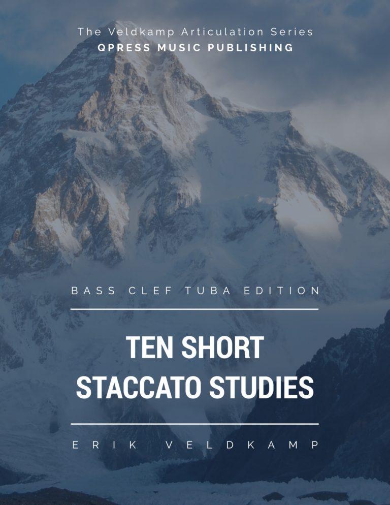 10 Short Staccato Studies for Tuba
