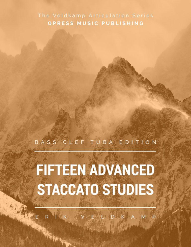 15 Advanced Staccato Studies for Tuba