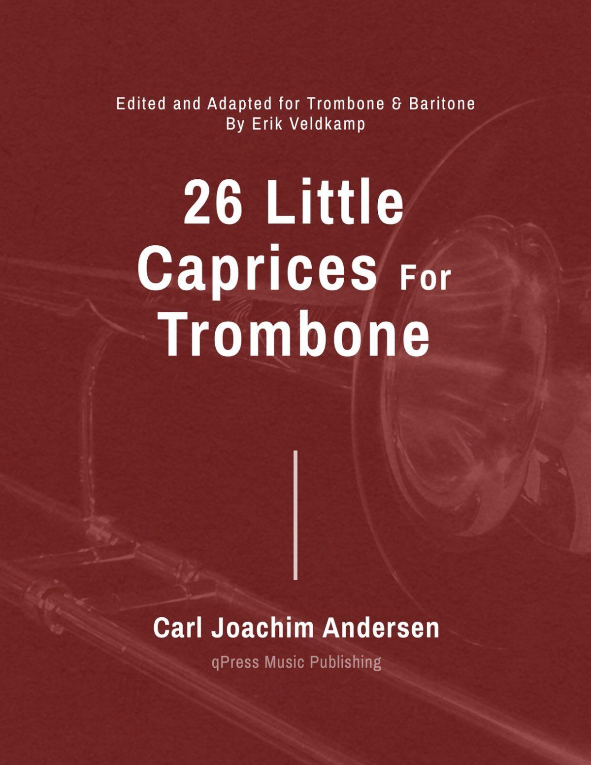 Andersen-Veldkamp, 26 Little Caprices Trombone and Baritone-p01