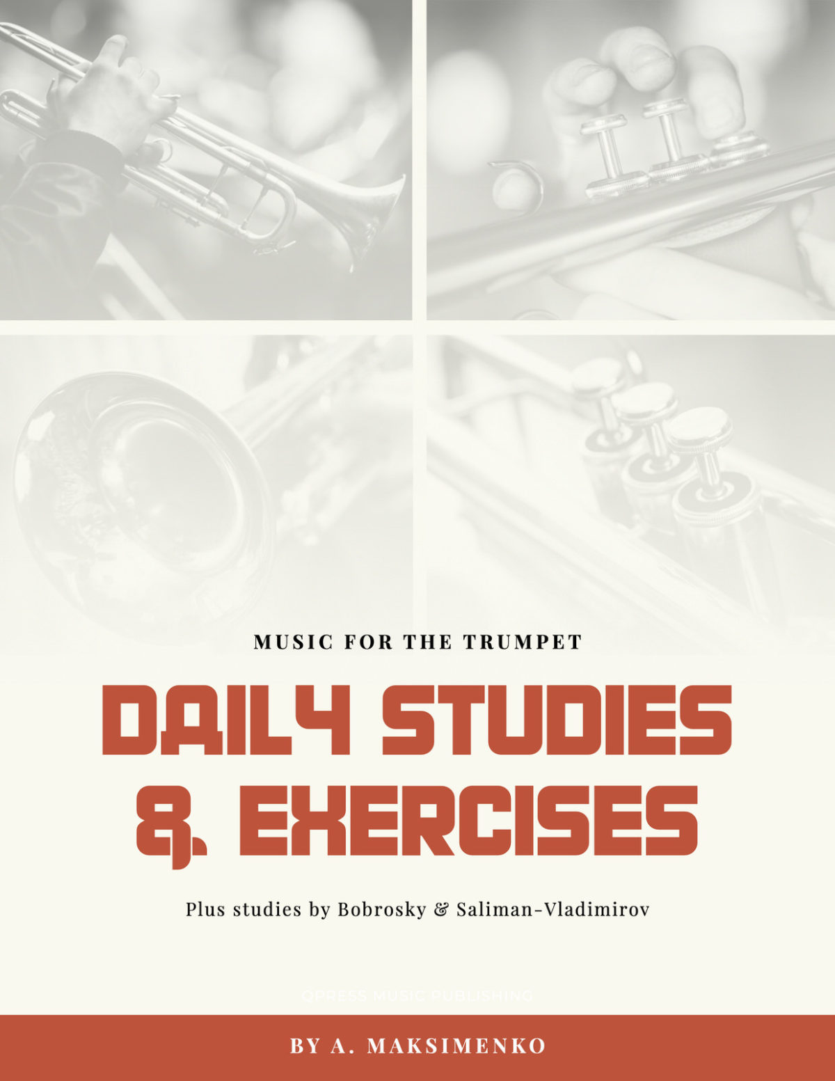 Maksimenko, Daily Studies & Exercises for Trumpet