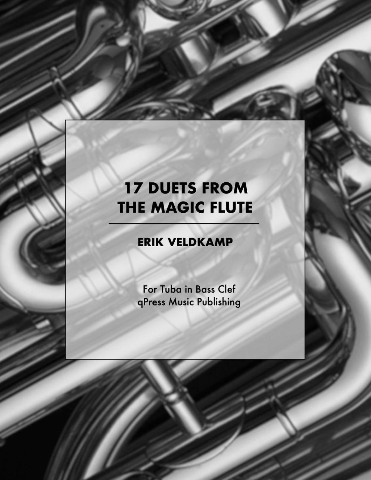 Mozart-veldkamp, 17 duets Tuba cover
