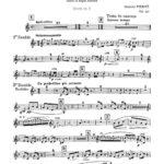 Pierné, Pastorale Variée Parts and Score-p23