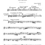Pierné, Pastorale Variée Parts and Score-p25