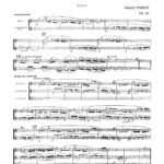 Pierné, Pastorale Variée Parts and Score-p29