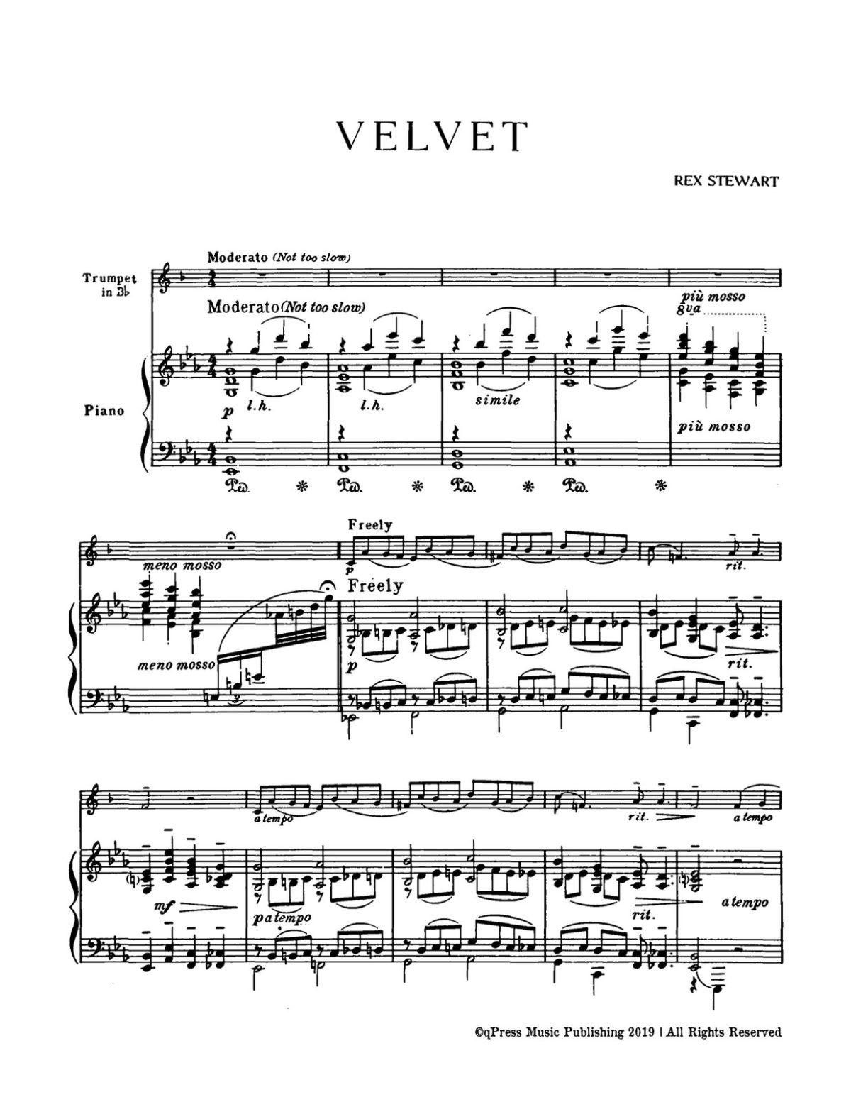 Stewart, Velvet (Part & Score)-p5
