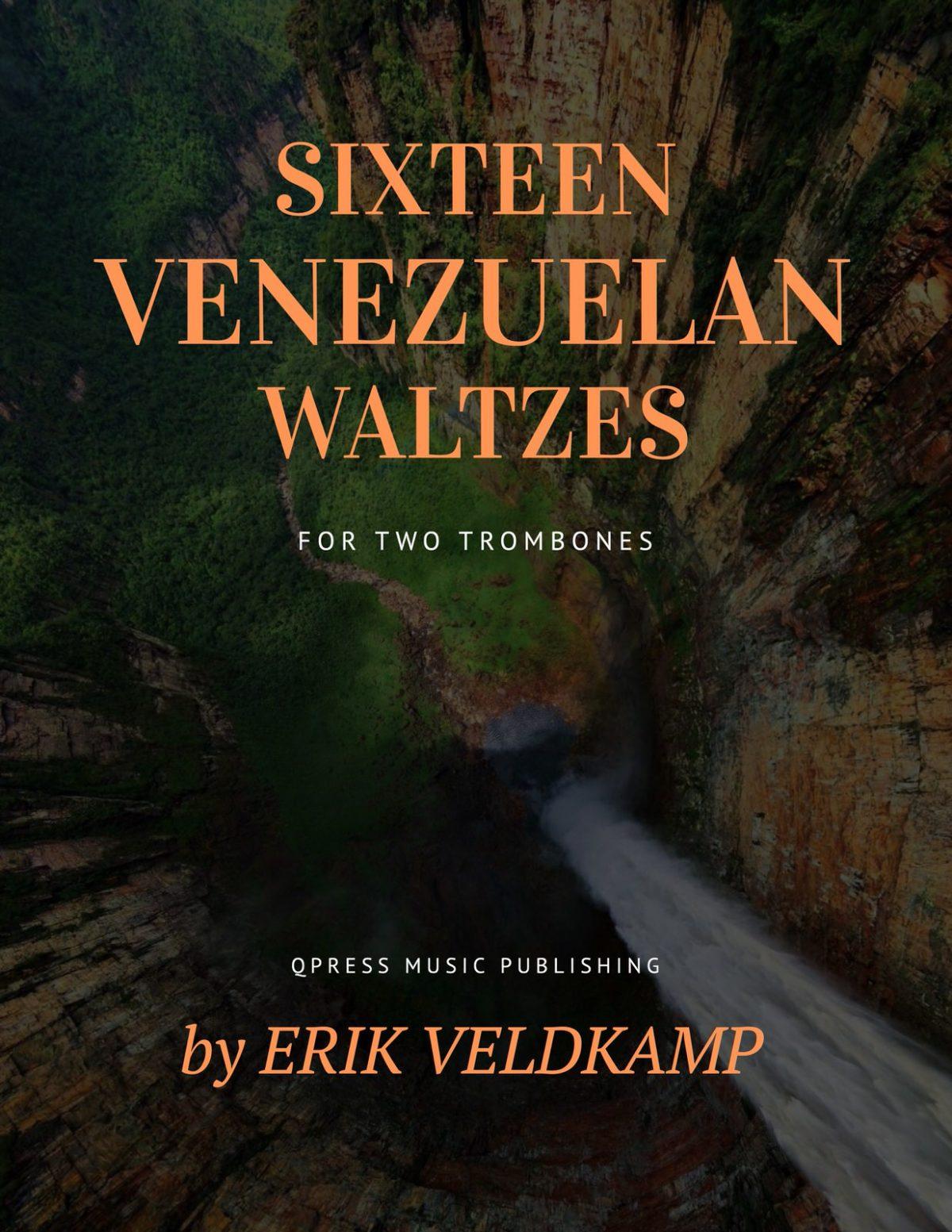 Veldkamp, 16 Venezuelan Waltzes for Trombone-p01