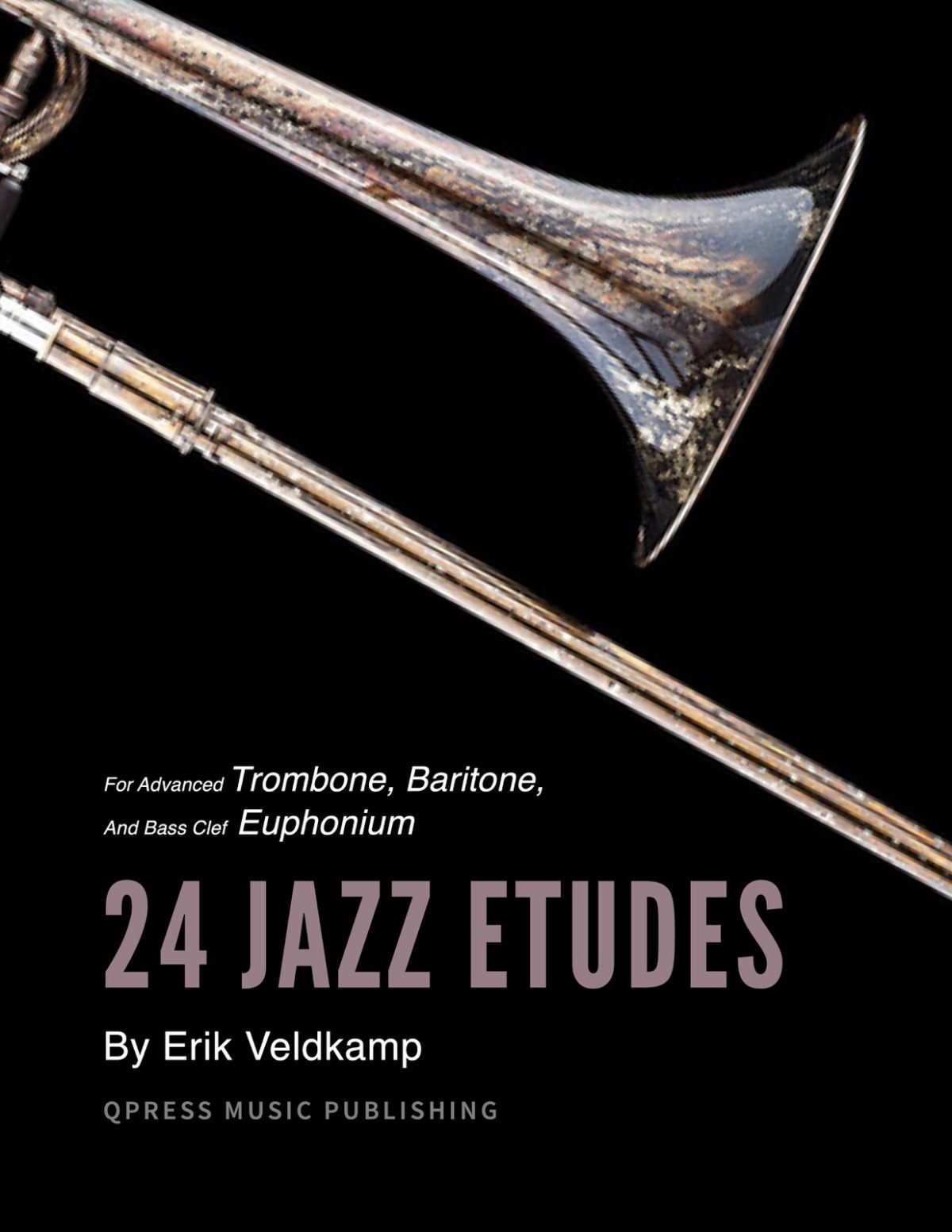 Veldkamp, 24 Jazz Etudes for Trombone-p01