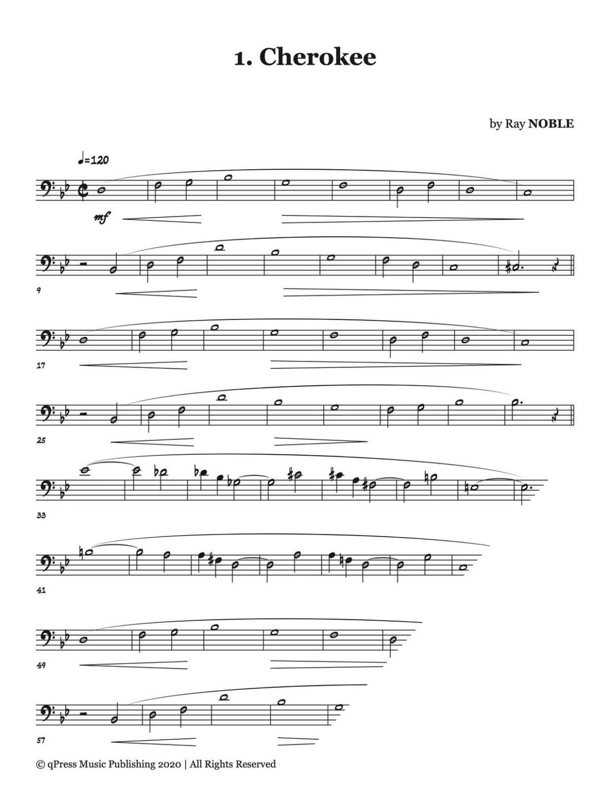 Veldkamp, 30 Song & Wind Studies for Tuba-p04