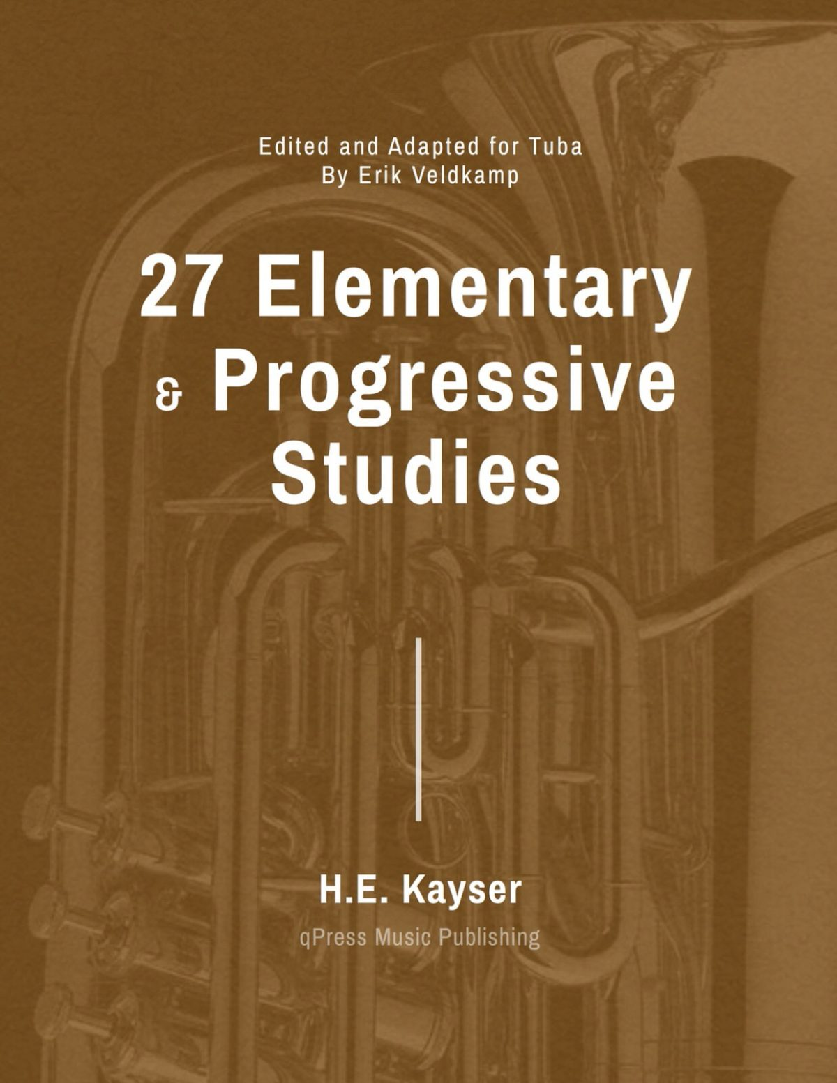 Veldkamp-Kayser, 27 Studies for Tuba-p01