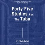 Veldkamp-Wohlfahrt, 45 Studies Op.45 for Tuba-p01