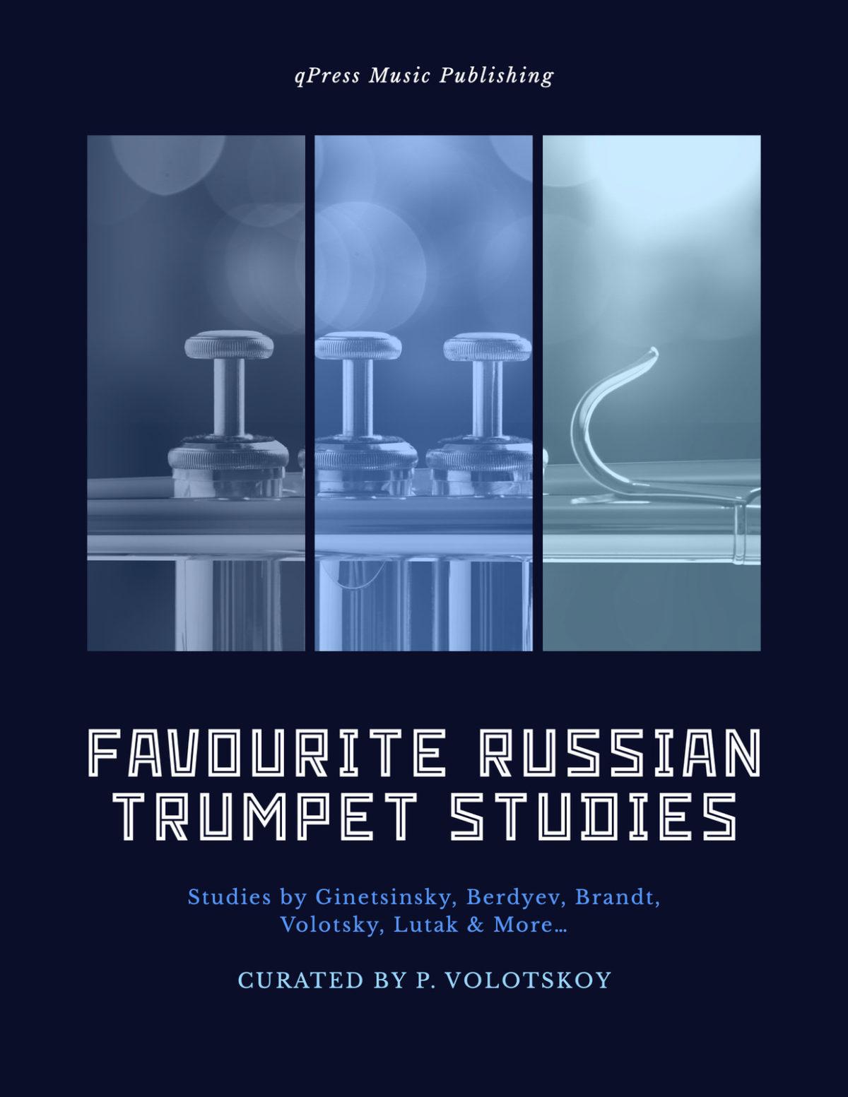 Volotskoy, Favourite Russian Studies for Trumpet