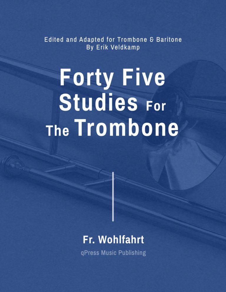 45 Studies Op.45 for Trombone