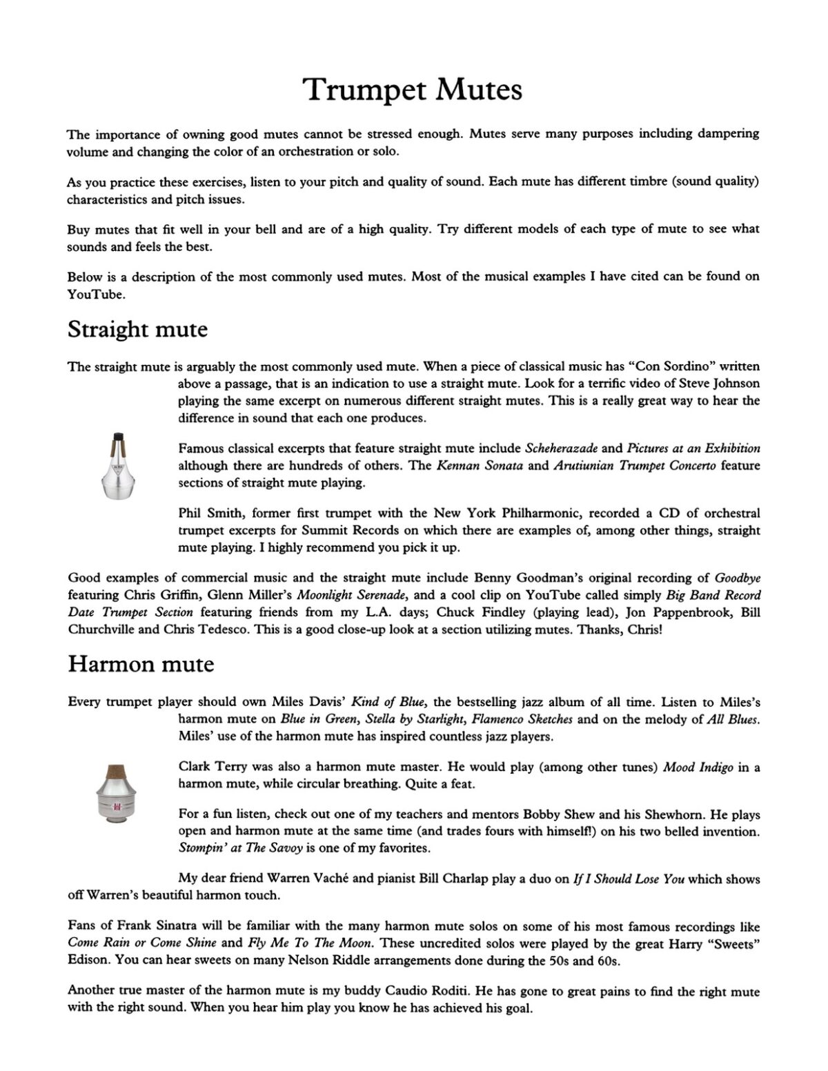 Colin, The First Book About Trumpet Mutes and How to Use Them-p05