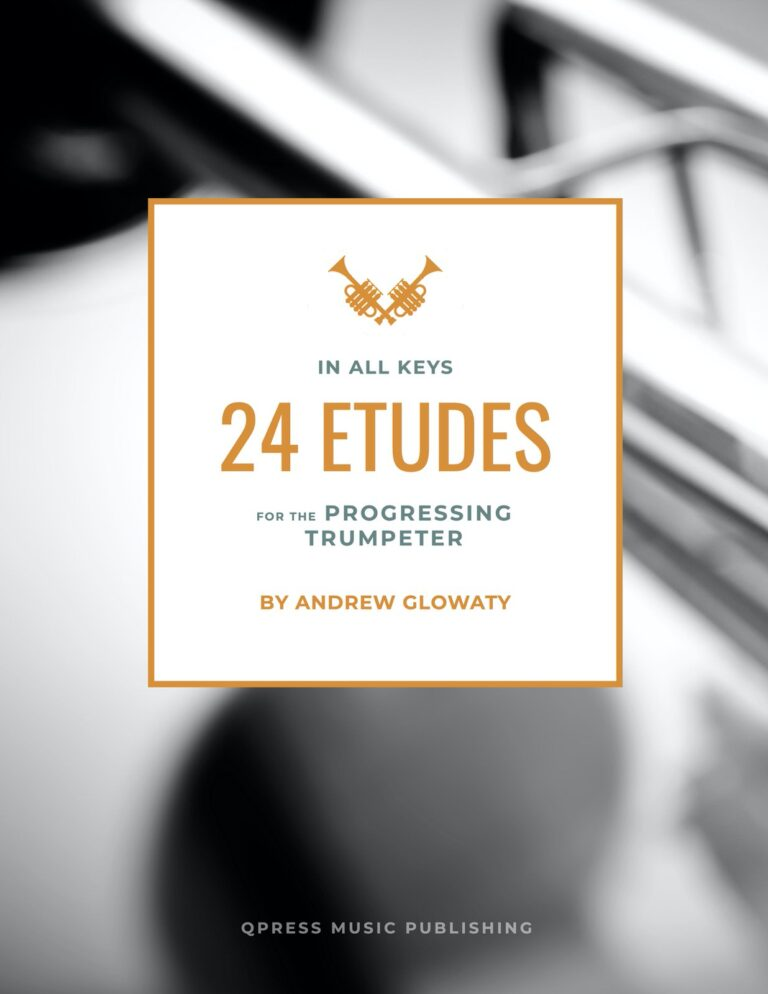 24 Etudes (in all keys) for the Progressing Trumpet Player