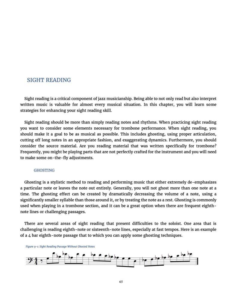 The Jazz Trombone Book