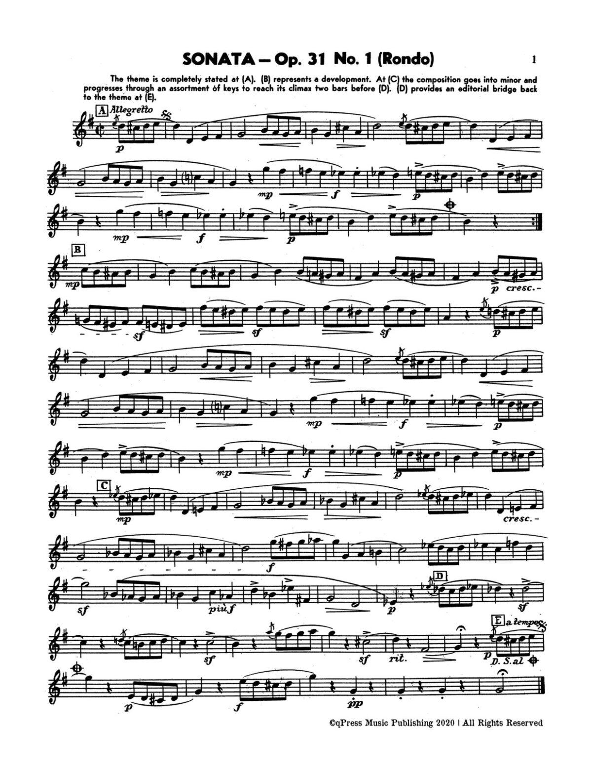 Paisner, Gornston, Beethoven Sonatas for Trumpet-p05
