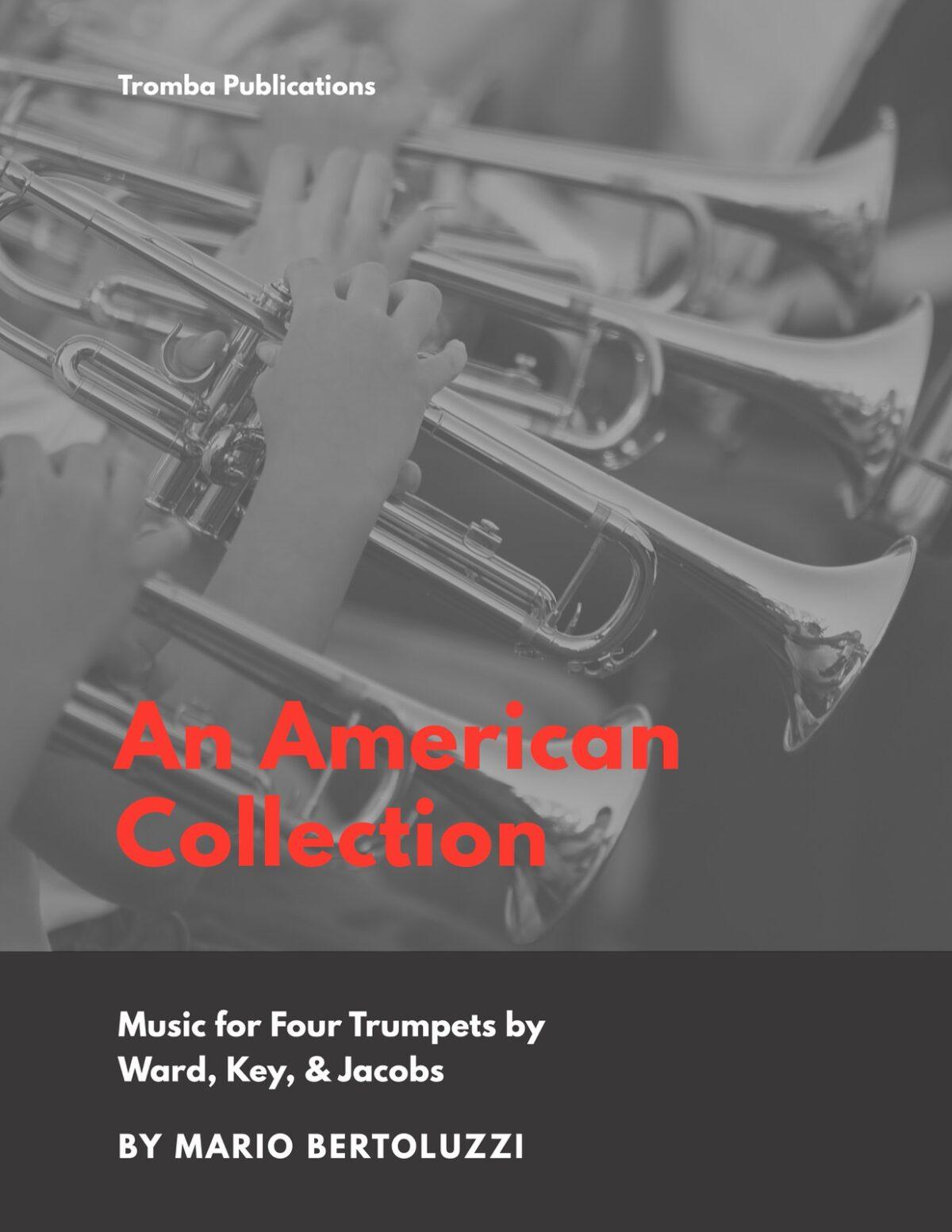 Bertoluzzi, An American Collection for Trumpet Quartet-p01