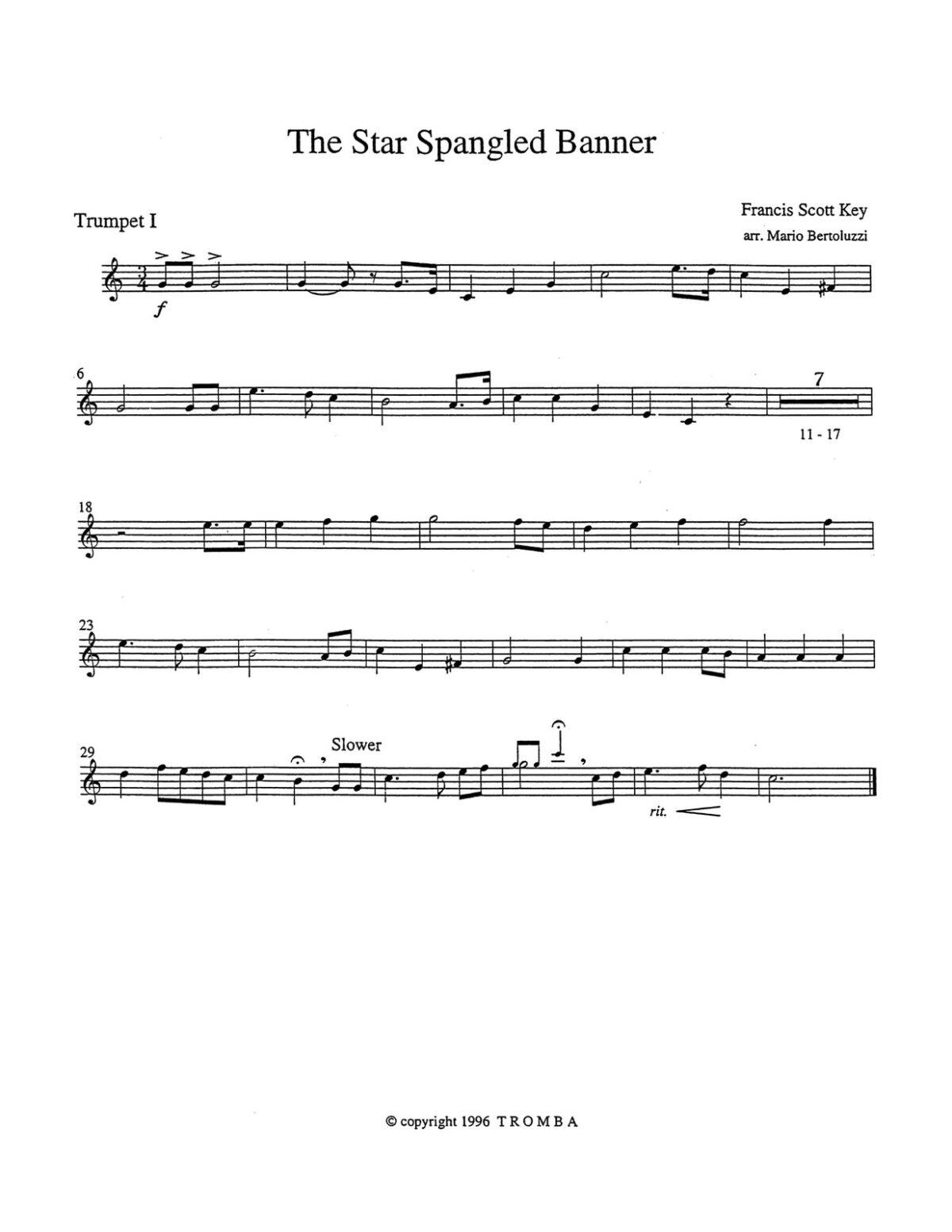 Bertoluzzi, An American Collection for Trumpet Quartet-p03