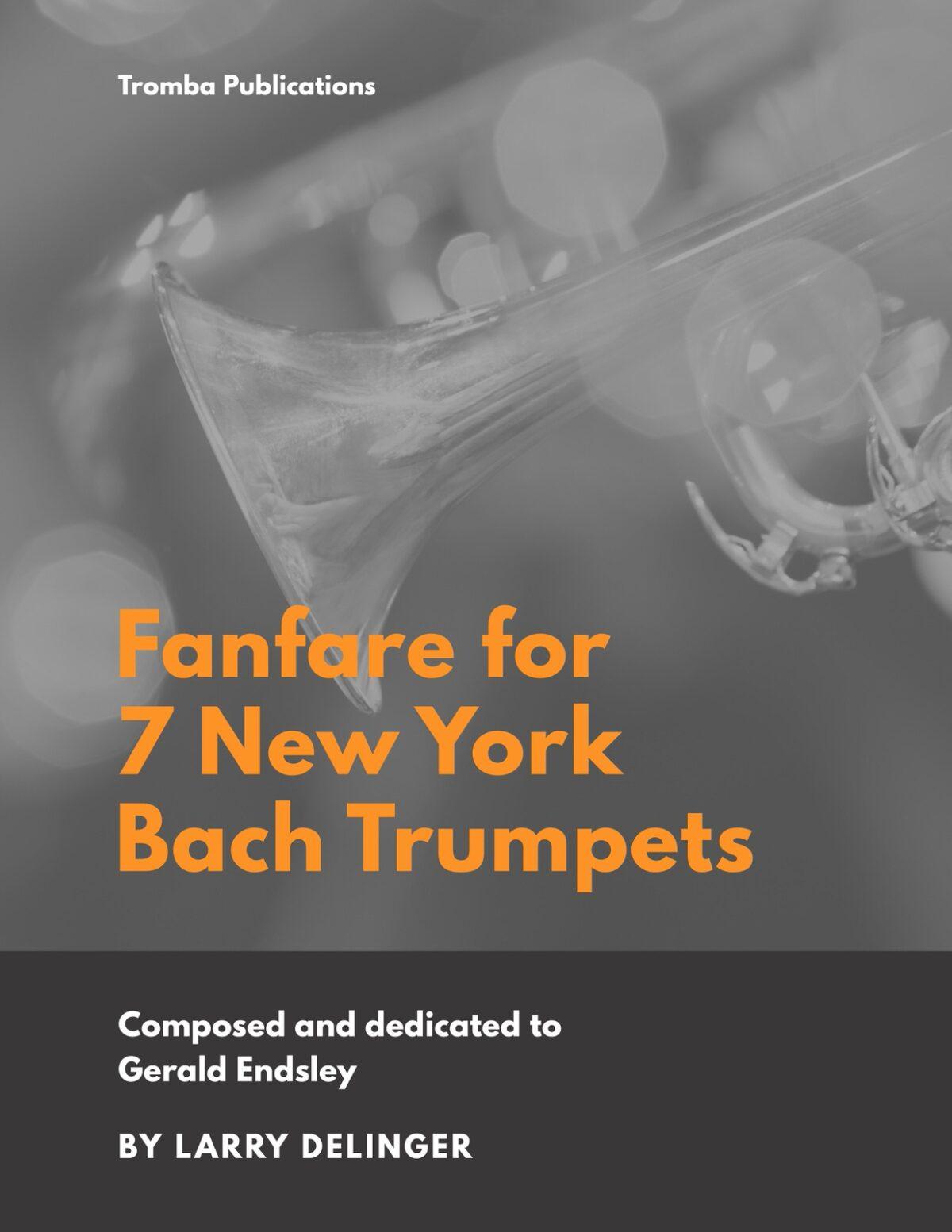 (Chamber) Delinger, Fanfare for Seven N.Y. Bach Trumpets-p01