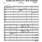 (Chamber) Delinger, Fanfare for Seven N.Y. Bach Trumpets-p17