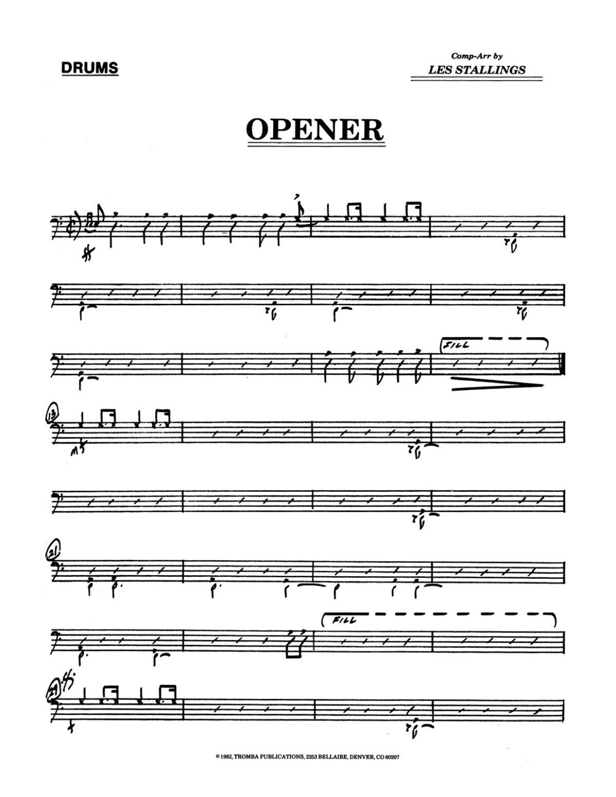 (Chamber) Stallings, Opener-p11