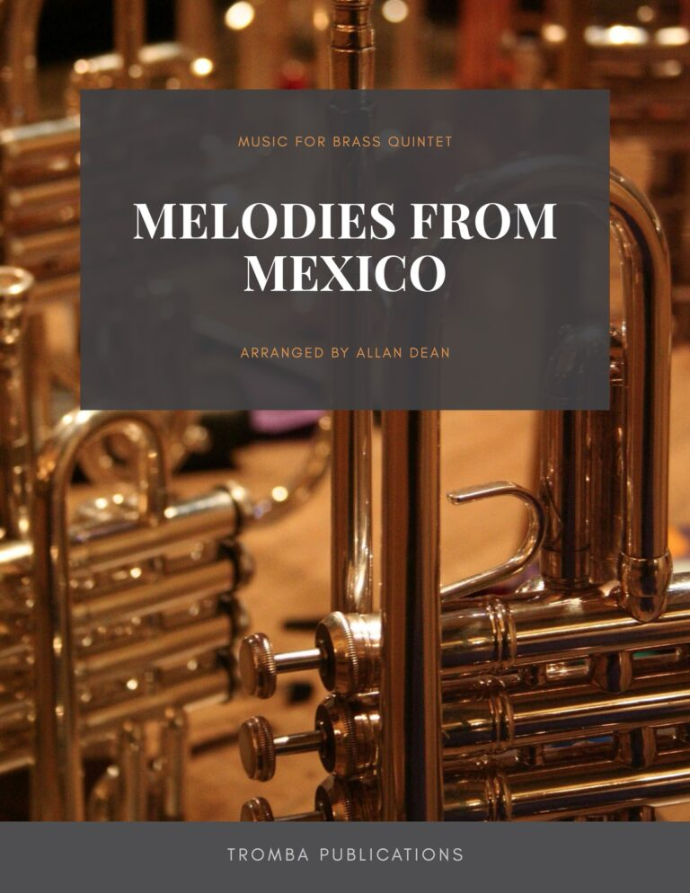 Melodies from Mexico for Brass Quintet