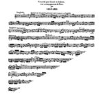 Donizetti arr. Signard, Variations on Cavatine d'Anna Bolena for Trumpet and Piano-p3